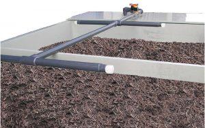 Impianto di umidificazione biofiltro