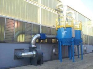Filtro a carboni attivi per verniciatura a secco ATEX