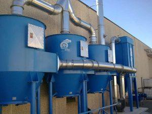 Depuratore a carboni attivi a sezione circolare ATEX Chemsorb®
