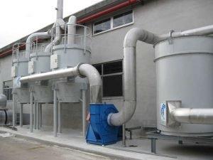 Depuratore a carboni attivi ATEX Chemsorb® abbattimento stirene