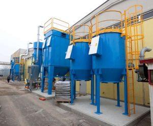 Filtri a carboni attivi ATEX nel settore chimico