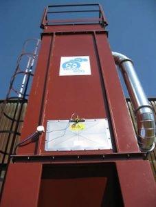 Filtro ATEX per polveri esplosive