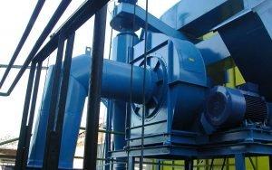 Dettaglio: ventilatore centrifugo