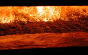 Combustione di biomassa solida