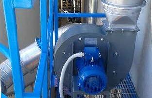 Applicazione 2: il ventilatore installato