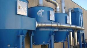Filtri a carboni attivi per abbattimento solventi