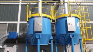 Filtro a carboni attivi ATEX per abbattimento solventi