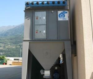 Filtro a cartucce ATEX per filtrazione fumi di saldatura alluminio
