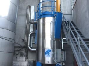 Filtro a coalescenza per emissioni oleose