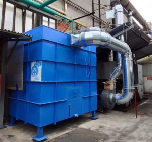 Filtro a coalescenza per trattamento termico acciaio