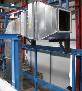 Applicazione 1: Terminale tubazione rettangolare