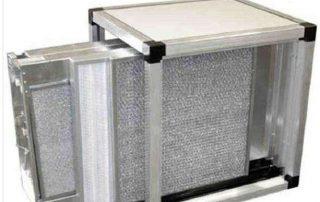 Filtrazione elettrostatica