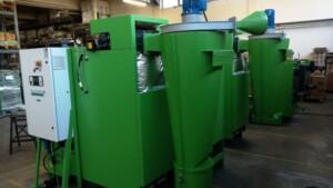 Multiciclone Turbovortex per caldaia a biomassa