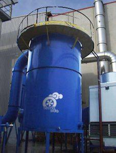 Filtro a coalescenza per nebbie oleose
