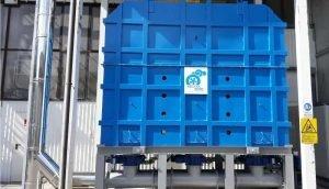 Applicazione 2: Ossidatore termico rigenerativo per trattamento COV da produzione abrasivi