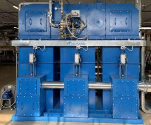 Ossidatore termico rigenerativo per trattamento COV da operazioni di rivestimento