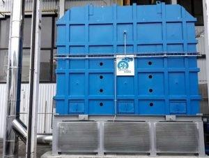Ossidatore termico con sistema di protezione