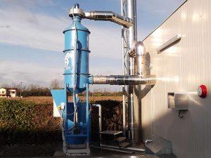 Lavatore fumi per caldaie a biomassa