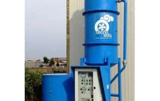 Depuratore fumi combustione biomassa