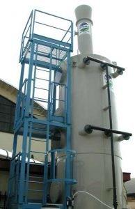 Applicazione 4: scrubber per vulcanizzazione gomma