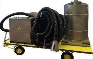 Filtro carrellabile ATEX a carboni attivi