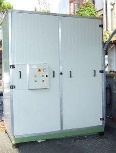 Sistema di pulizia centralizzato per polveri