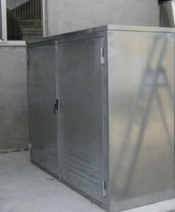 La cabina afonica di contenimento rumore del ventilatore