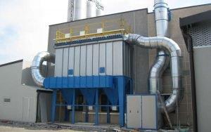 Applicazione 2: il filtro montato all'esterno con il ventilatore dimensionato secondo le necessità