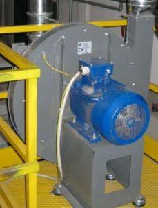 Applicazione 3: ventilatore centrifugo