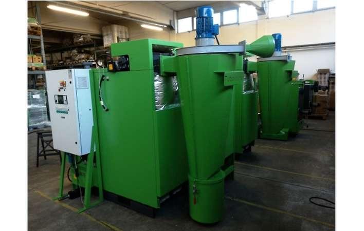 Separatore tangenziale Turbovortex per caldaie a biomassa