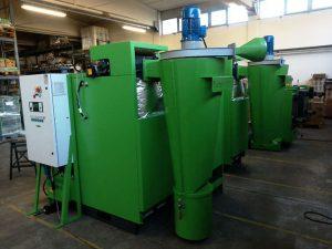 Multiciclone Turbovortex per caldaia a biomassa solida