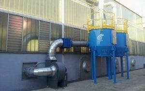 Applicazione 2: filtro a carboni attivi ATEX