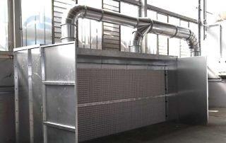 Applicazione 2: cabina di verniciatura