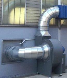 Applicazione 2: ventilatore centrifugo