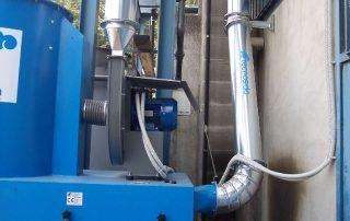 Applicazione 3: dimensionamento aspiratore in base alle esigenze specifiche.