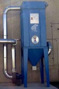 Applicazione 2: Dustdown filtro depolveratore autopulente
