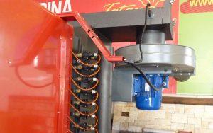 Gruppo multiciclone-ventilatore dimensionato per certificazione caldaia EN-303