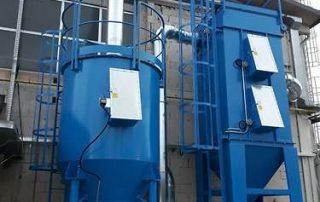Applicazione 1: impianto due step ATEX per filtrazione polveri ed abbattimento COV