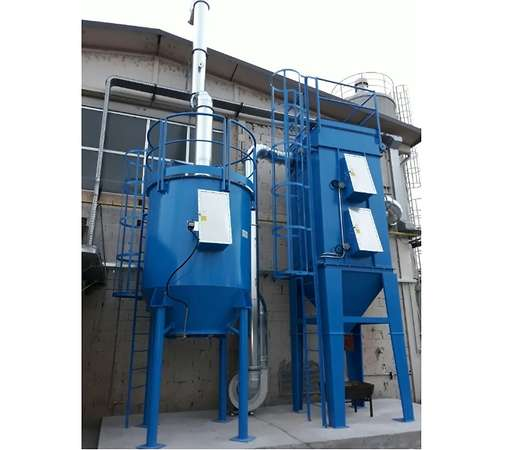 Dwustopniowy system ATEX do filtracji pyłów i LZO