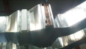 Applicazione 1: Batteria di pre-riscaldo per pannelli