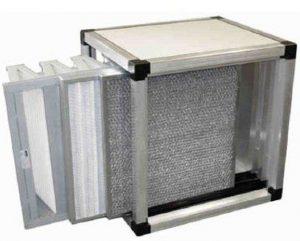 Modulo a filtrazione meccanica e tasche rigide