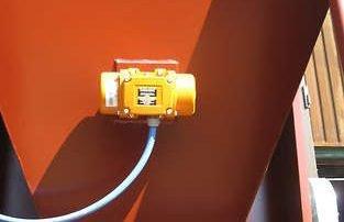 Applicazione 1: motovibratore per impedire alle polveri di impaccarsi e creare scintille